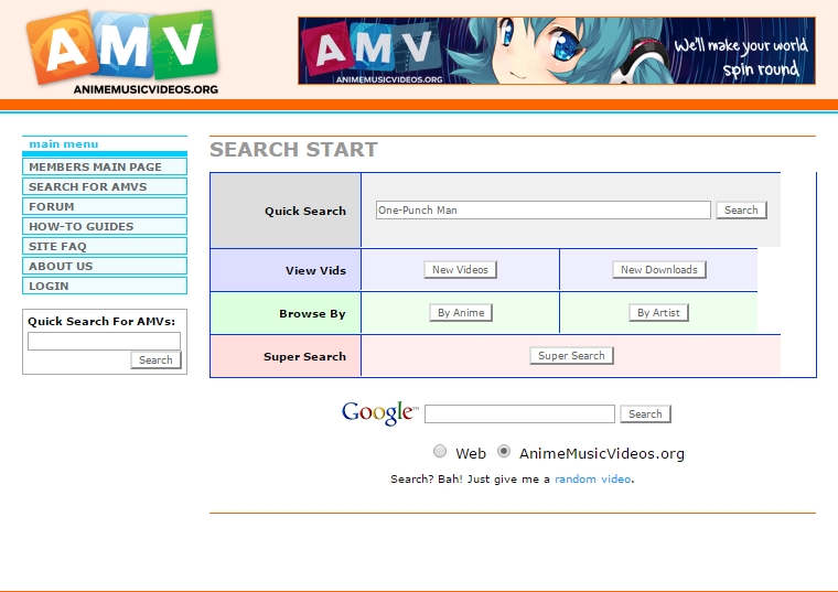 AMV Search