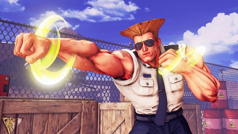 Guile chega a Street Fighter V