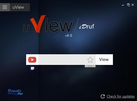 uView - Imagem 1 do software