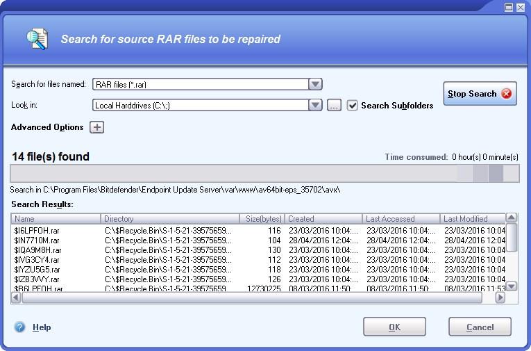 DataNumen RAR Repair - Imagem 1 do software