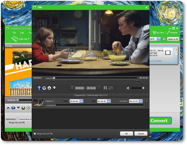 HD Video Converter - Imagem 2 do software