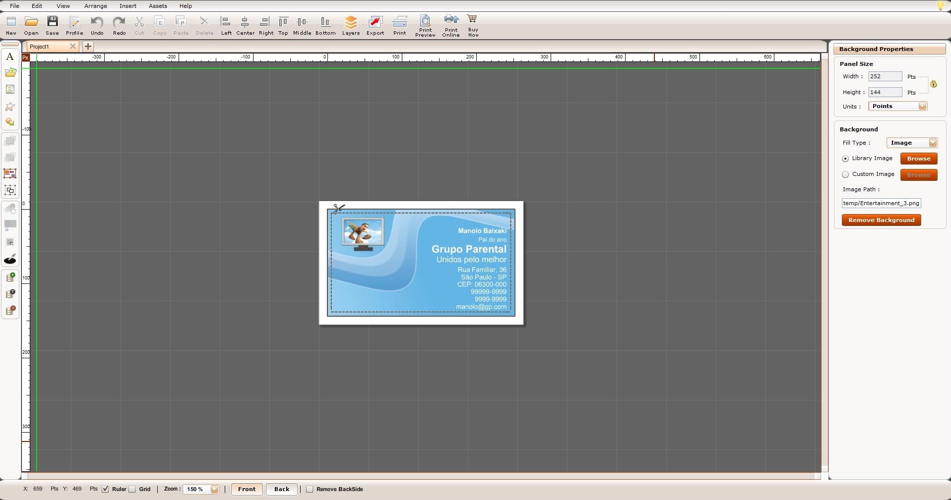 Business card designer 60 download imagem 3 do business card designer 60 ampliar reheart Images