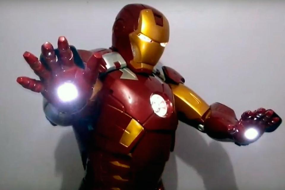 d27d29cb8 É do Brasil: dupla cria armadura Mark 7 de Homem de Ferro
