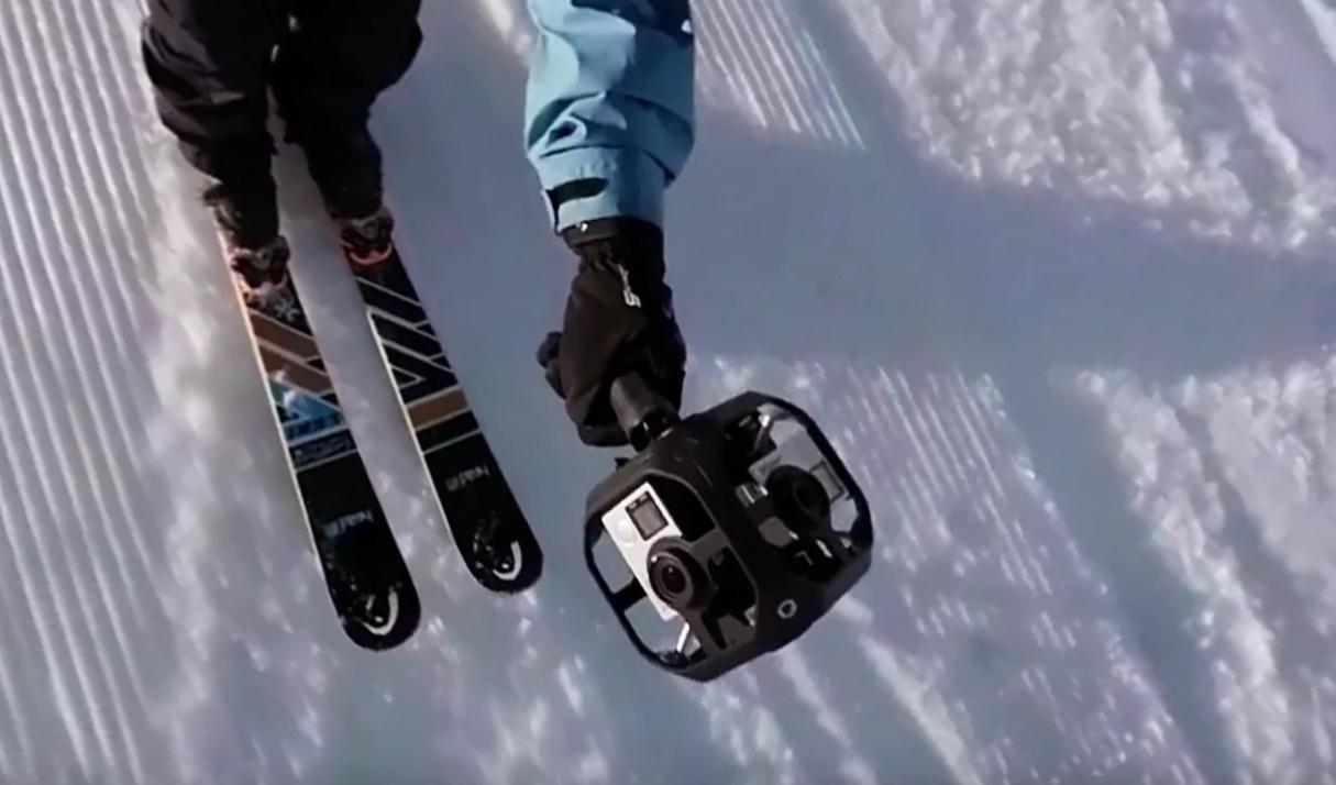 8738837f5 GoPro mostra primeiro vídeo do Omni, seu rig de realidade virtual