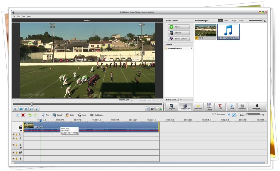 Soft4boost Video Studio - Imagem 1 do software