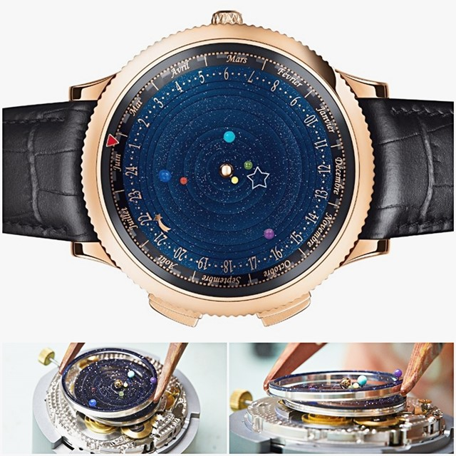 d13f15420 Não é apenas um simples relógio de pulso  mas uma verdadeira obra de arte