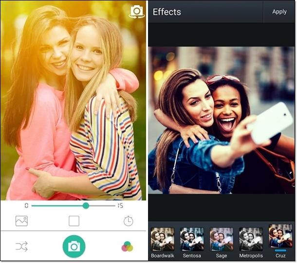 Selfie Camera Expert - Imagem 1 do software