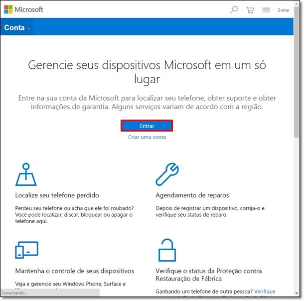 Encontrando um PC perdido com Windows 10