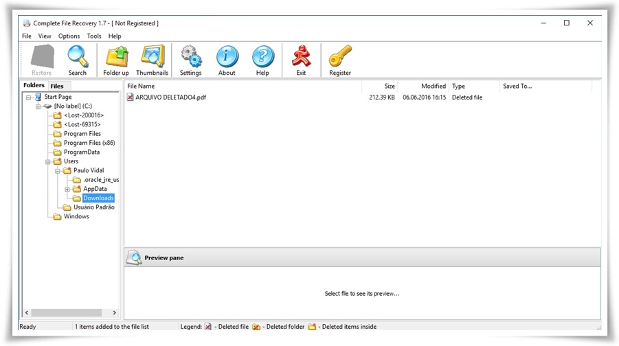 Restoring Partitions and Recovering Files with