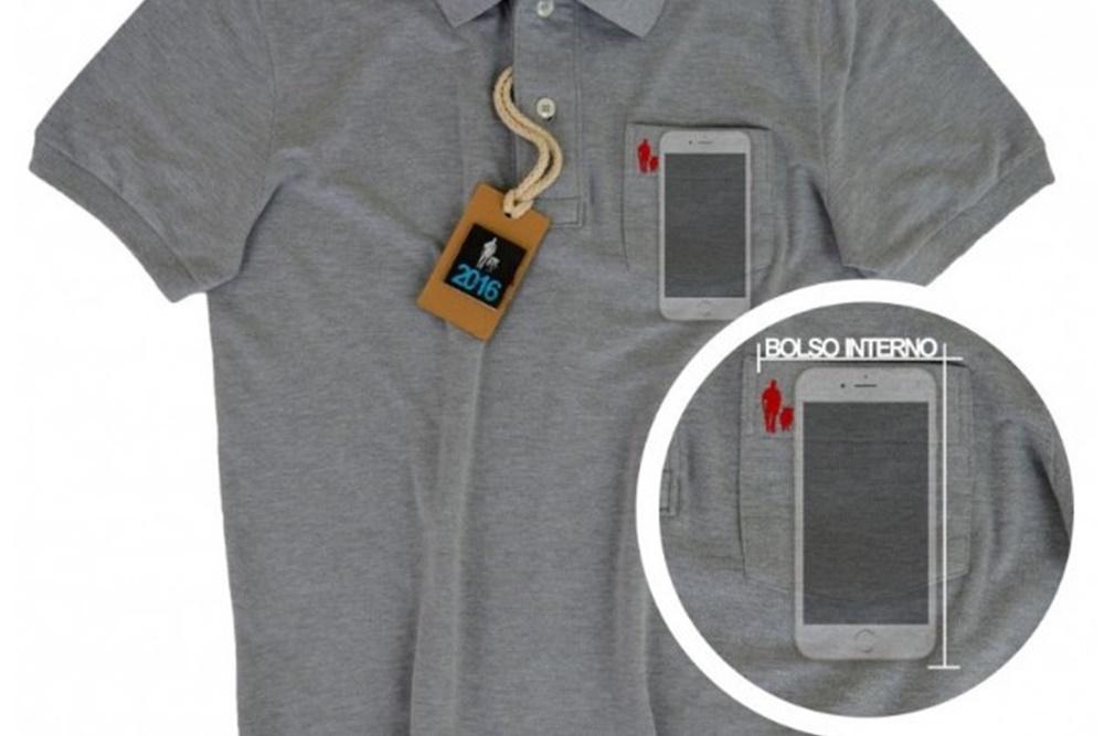 478d3e9a39e9f Grife cria camisa com bolso secreto para enganar ladrão de smartphone - Ficha  Técnica - TecMundo