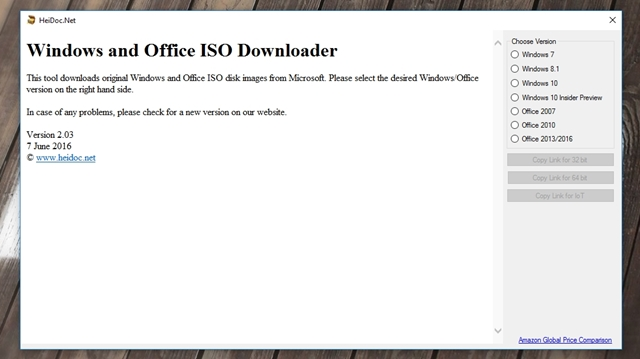 Windows ISO Downloader Download para Windows Grátis