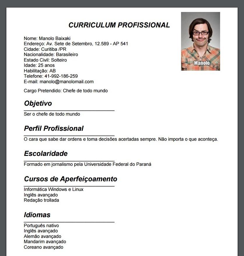 Curriculum profissional download for O que significa dining room em portugues
