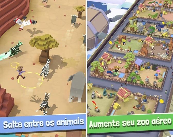 Rodeo Stampede Sky Zoo Safari Download Para Iphone Em