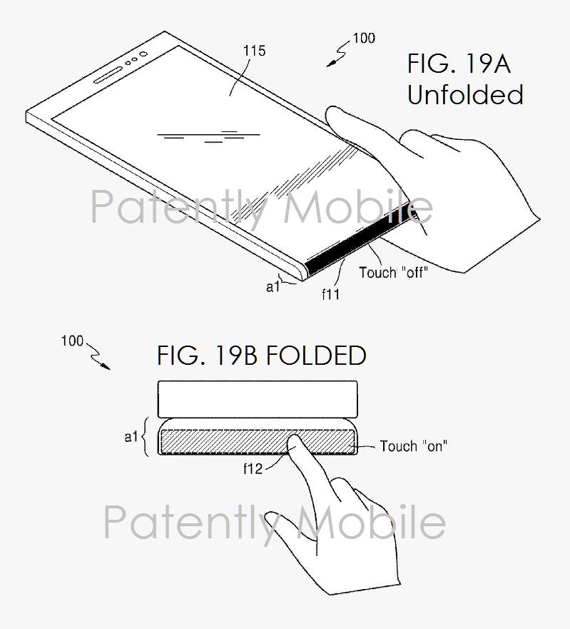 Samsung registra nova patente detalhada com smartphones e