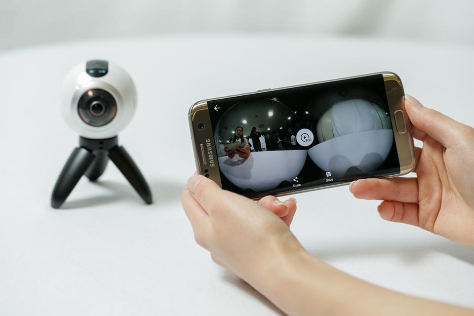 Aprenda a controlar o Gear 360 da Samsung usando qualquer smartphone ed52463992