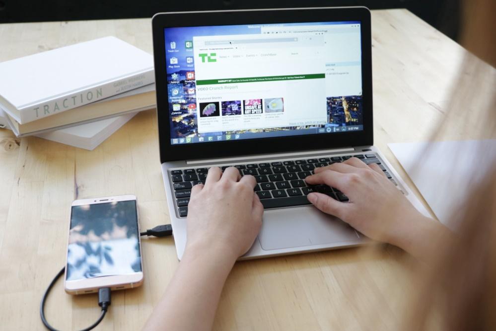 Conheça o Superbook, o acessório que transforma seu smartphone em um laptop