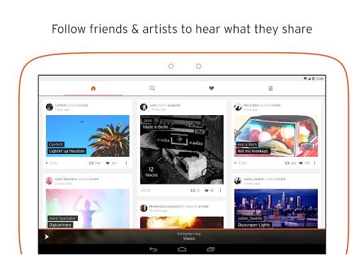 SoundCloud - Imagem 3 do software