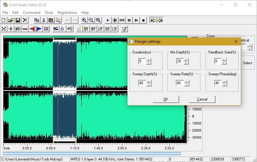 Cool Audio Editor - Imagem 1 do software