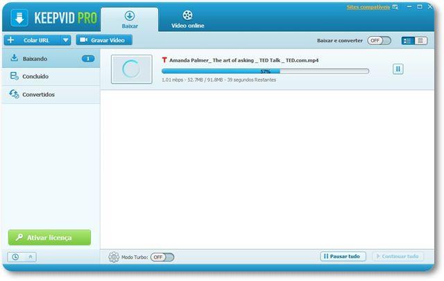KeepVid Pro - Imagem 1 do software