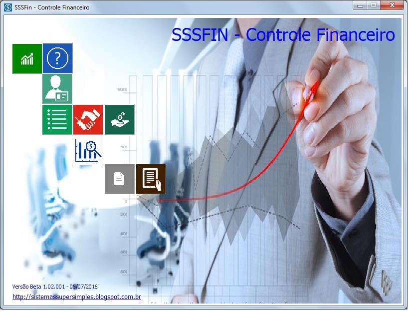 SSSFIN - Controle Financeiro - Imagem 1 do software