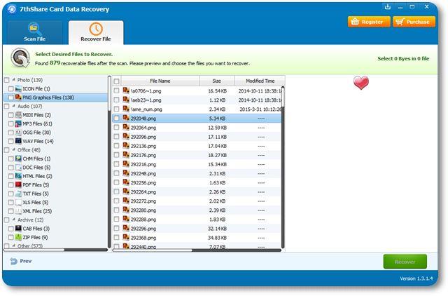 SD Card Recovery Software - Imagem 1 do software