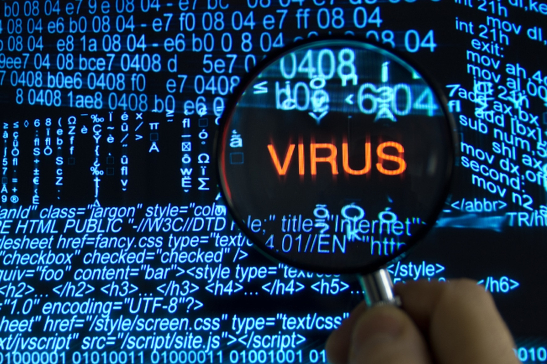Tome cuidado com vírus ao fazer download