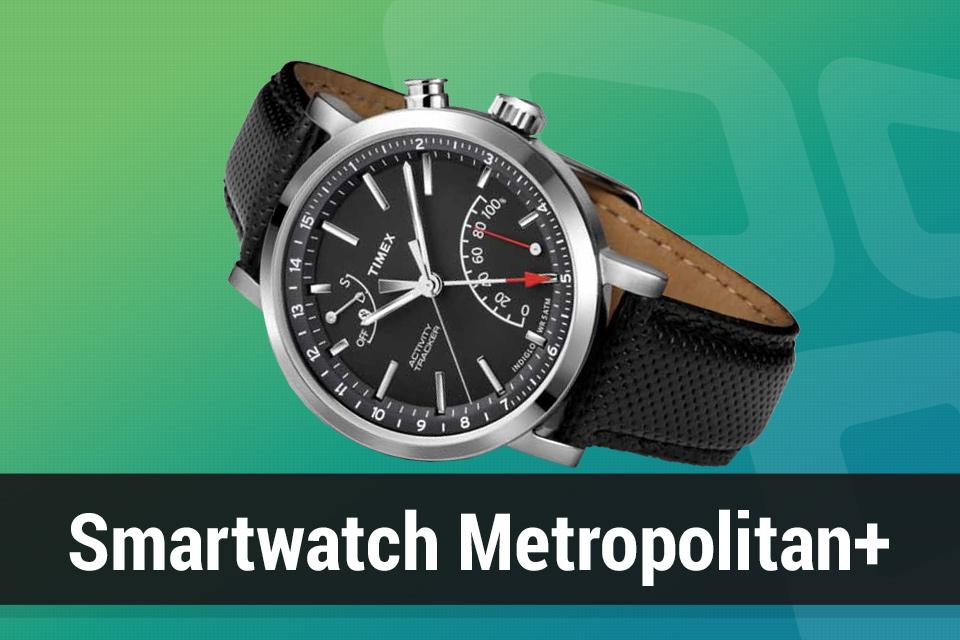 0ff09ce87cc Review  relógio Timex Metropolitan+ com rastreador de atividades - TecMundo