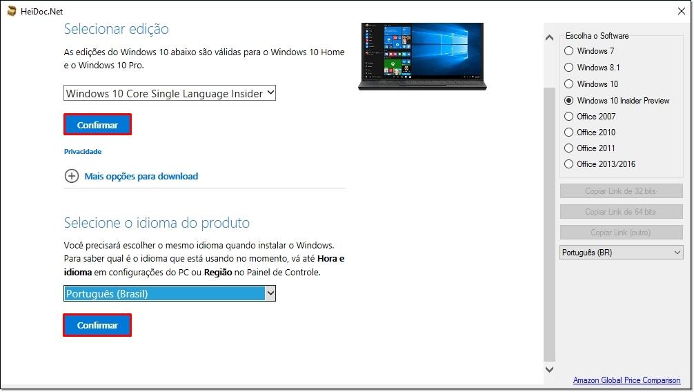 É fácil! Agora você pode baixar qualquer ISO do Office ou do Windows