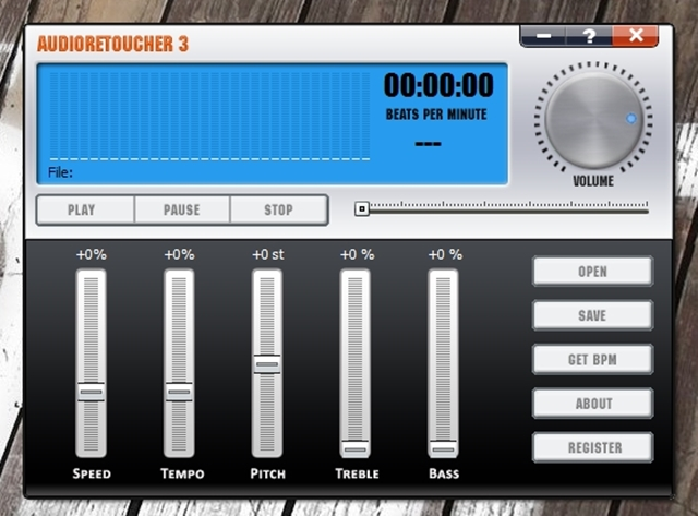 AudioRetoucher - Imagem 1 do software