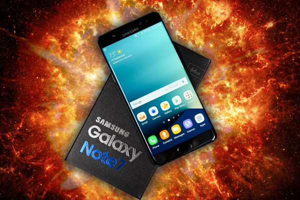 Samsung anuncia recall do Galaxy Note 7 e suspende as vendas após explosões