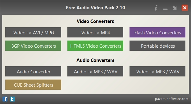 Free Audio Video Pack - Imagem 1 do software
