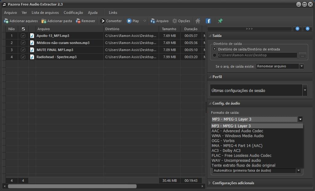 Free Audio Video Pack - Imagem 4 do software