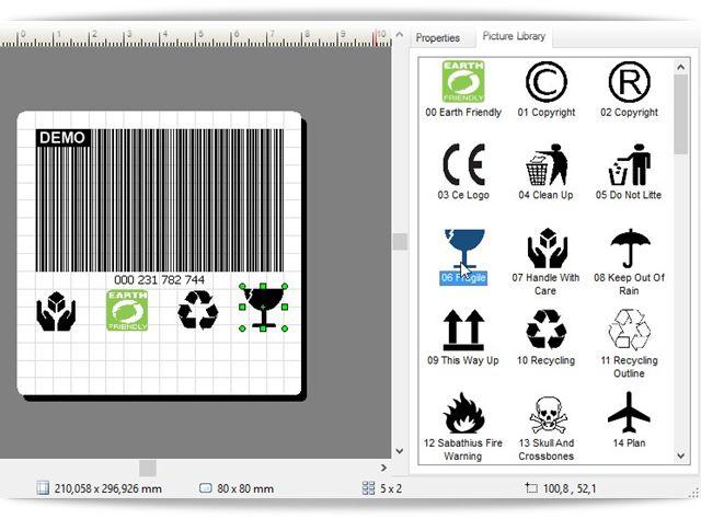 Barcode Label Design - Imagem 2 do software