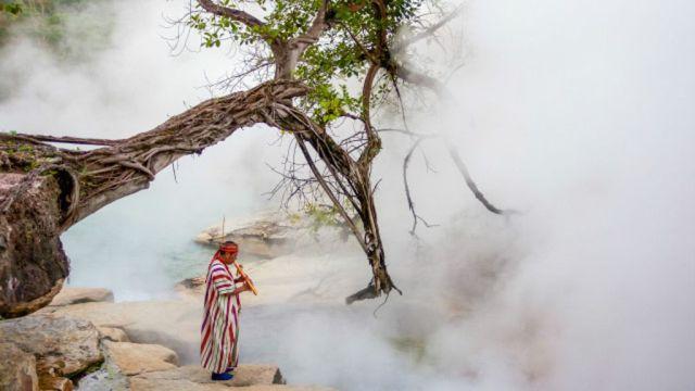 Dentro deste rio, os olhos são os primeiros a cozinhar, seguido dos pulmões (Crédito: Reprodução)