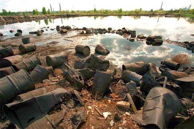 O lago era um depósito de lixo radioativo da antiga URSS (Crédito: Reprodução)