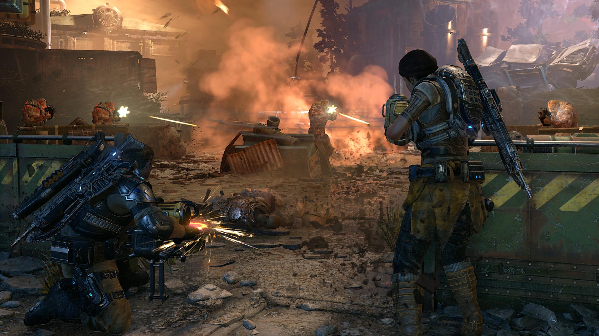Campanha de Gears of War 4 terá tela dividida no PC e cross-play com X1 -  TecMundo