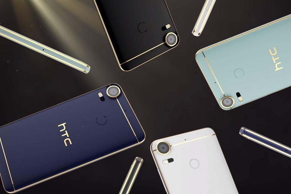 310cfa1ad4a HTC anuncia smartphones intermediários estilosos Desire 10 Pro e Lifestyle