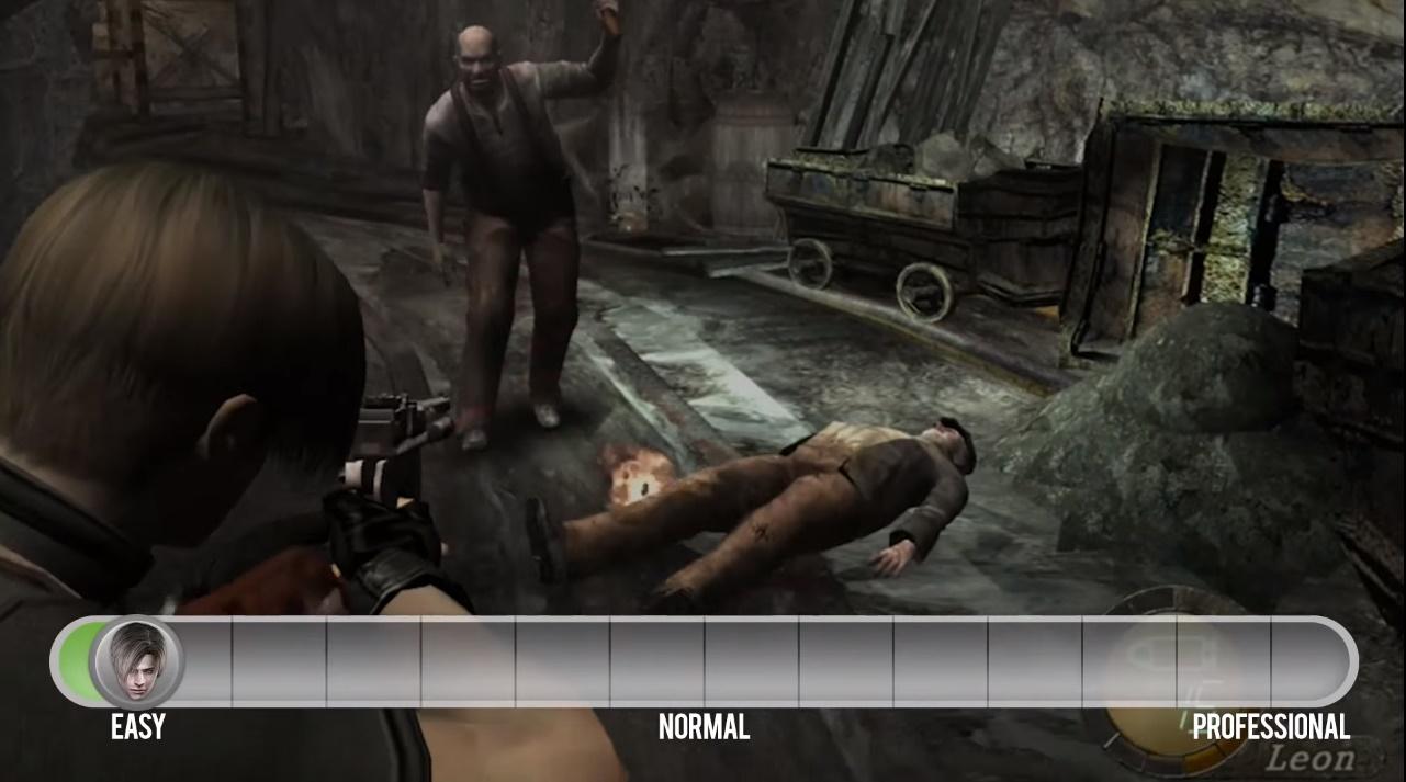 Resident Evil 4 e a dificuldade adaptativa: um segredo vital para divertir