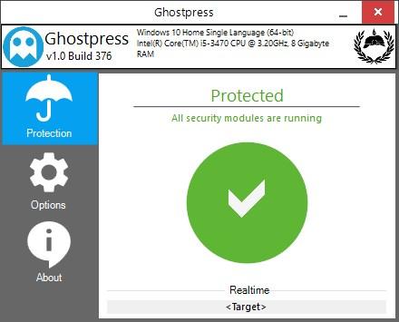 Ghostpress Anti-keylogger - Imagem 1 do software