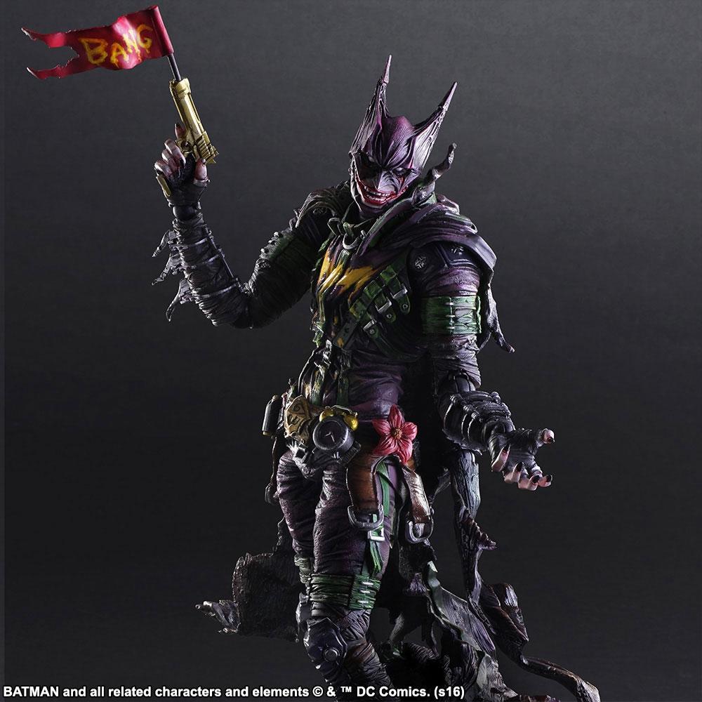 Square Enix redesenha vilões do Batman e o resultado são figures de babar