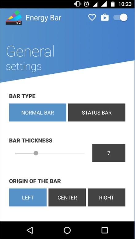 Energy Bar - Imagem 2 do software