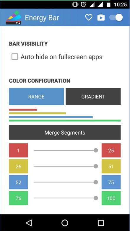 Energy Bar - Imagem 1 do software