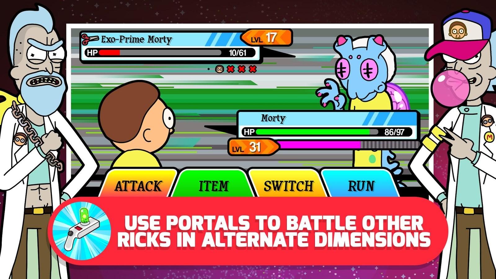 Pocket Mortys - Imagem 1 do software