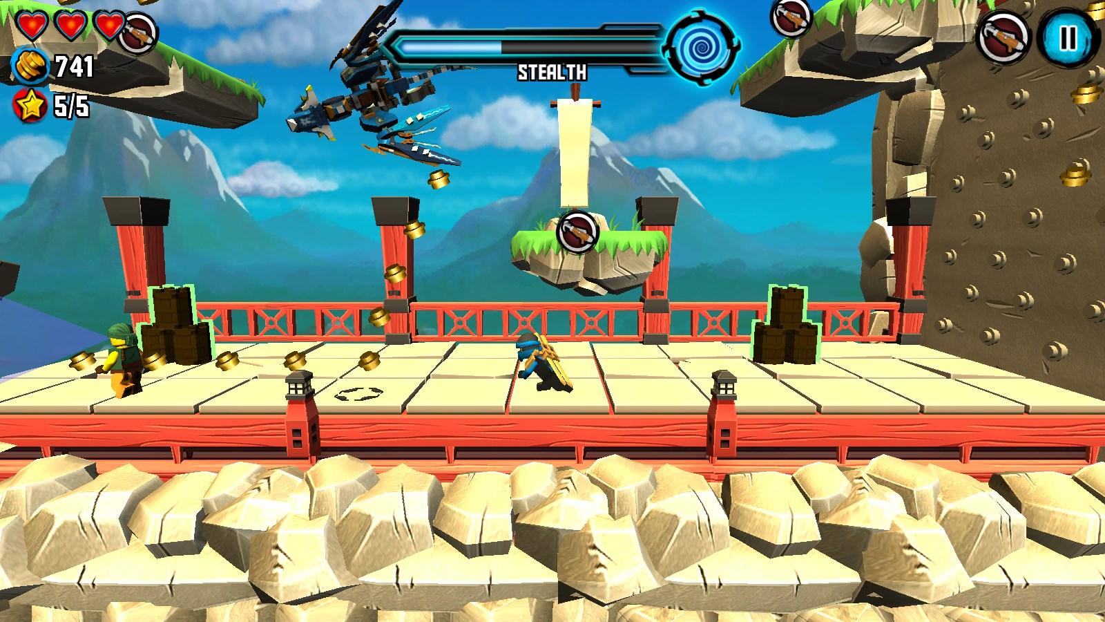 LEGO Ninjago: Skybound - Imagem 1 do software