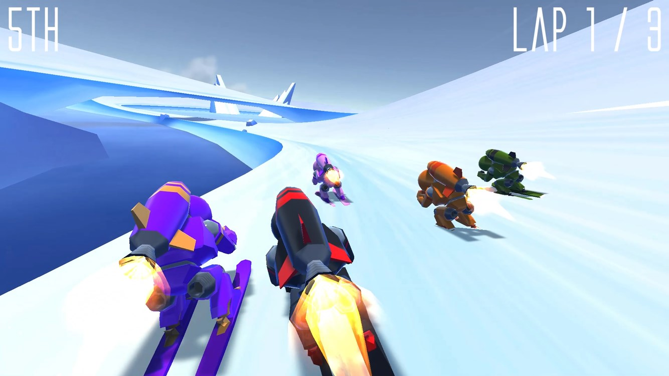 Rocket Ski Racing - Imagem 1 do software