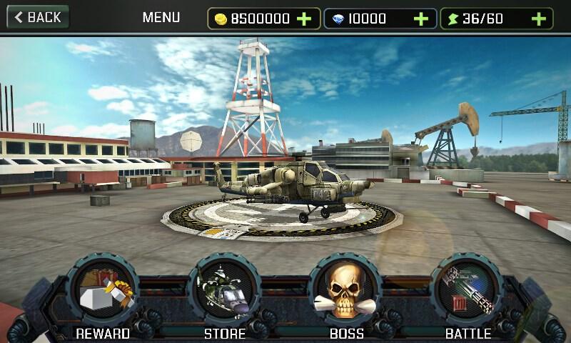 Ataque de helicóptero 3D - Imagem 1 do software