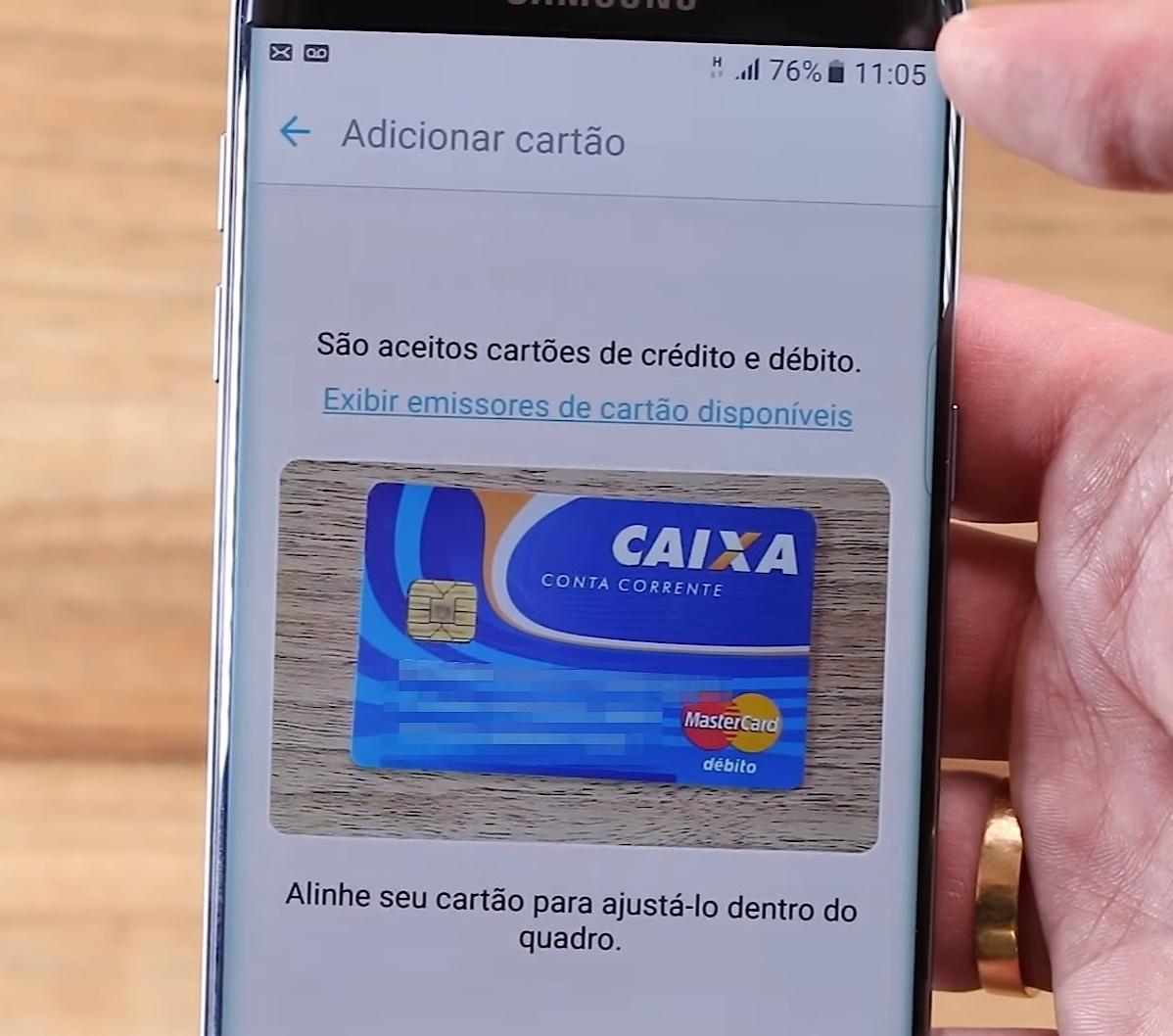 2a6de9b63 Testamos o Samsung Pay com um cartão Mastercard [vídeo] - TecMundo