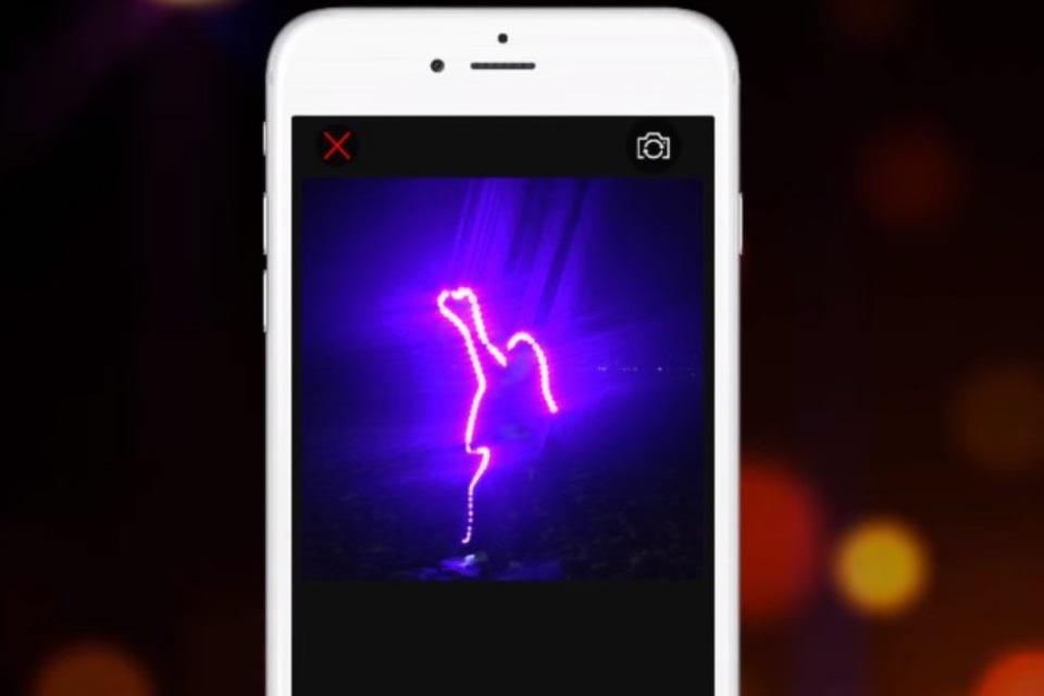 Gosta de fotos com 'pinturas de luz'? Então você precisa conhecer este app