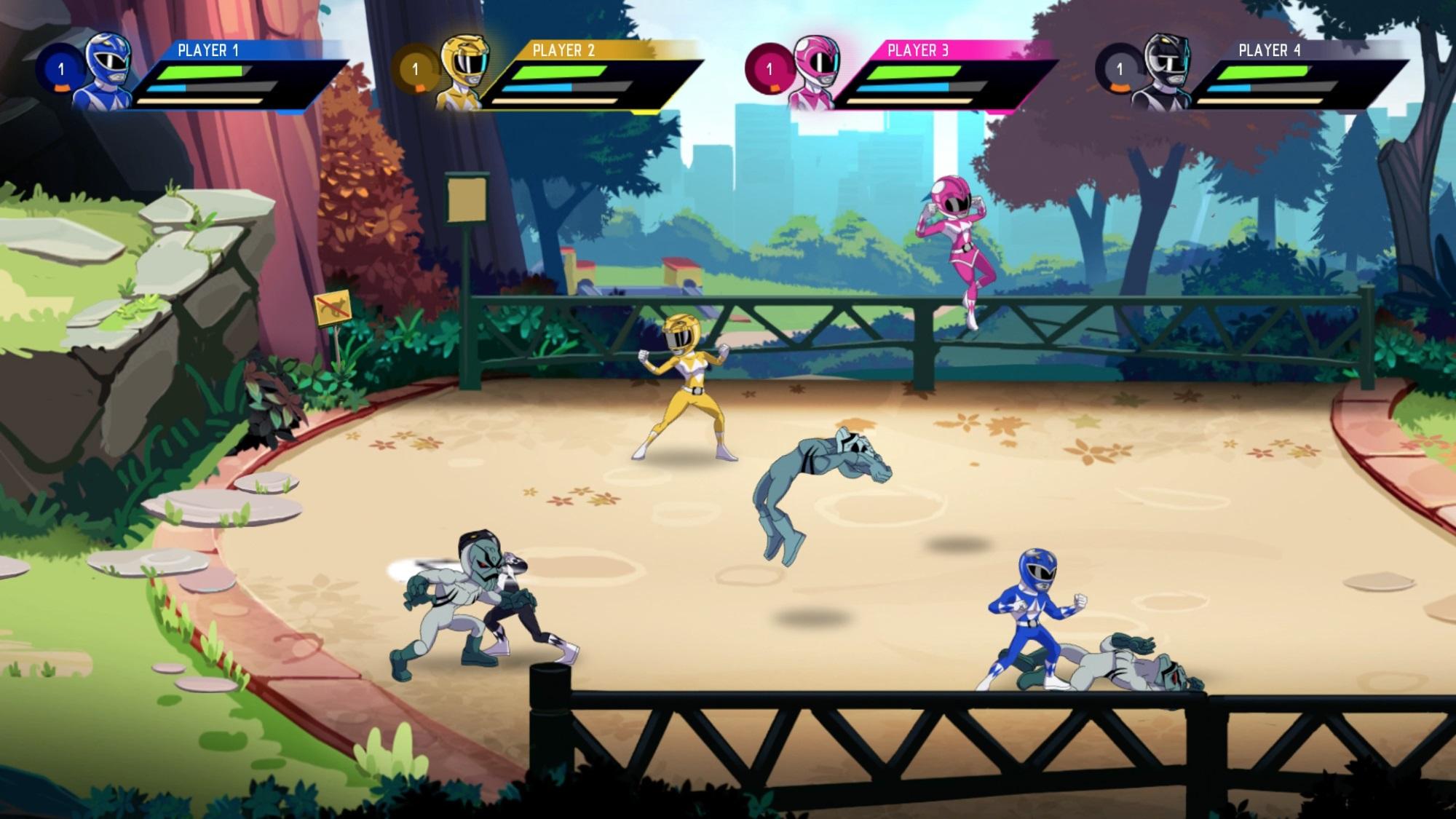 Hora de morfar: Power Rangers Mega Battle ganha anúncio oficial