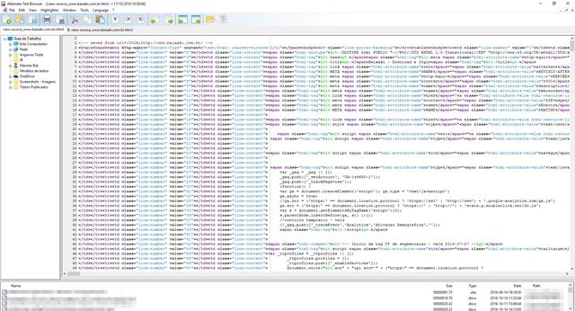 Alternate Textbrowser - Imagem 1 do software